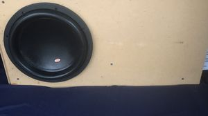 """12"""" MEMPHIS MOJO X 3000 WATTS 1500 RMS IN CUSTOM PORTED BOX for Sale in Fremont, CA"""