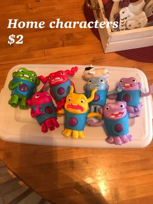 Winnie the Pooh, Home, Rugrats, Sesame Street, Teenage Mutant Ninja Turtles, TMNT, Peppa Pig, transformers, Angry Birds, Incredibles, Life of for Sale in Obetz, OH