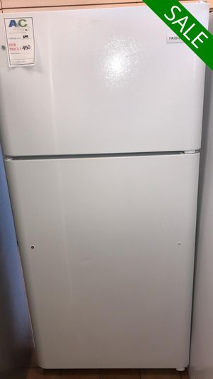 FREE DELIVERY!! Frigidaire CONTACT TODAY! Refrigerator Fridge White #1484 for Sale in Fort Washington, MD