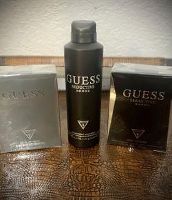 Authentic Guess Men's Seductive Black Set for Sale in Edgewood,  FL