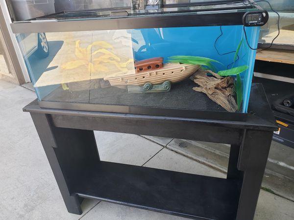 20gall Glass Long Aquarium Set