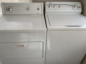 Kenmore washer and dryer free local delivery for Sale in Port Richey, FL