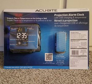 Acurite projection alarm clock for Sale in Pacifica, CA