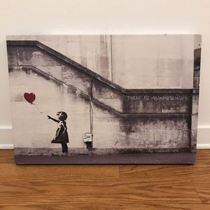 """Banksy Balloon Girl Canvas 26 x 18"""" for Sale in Los Angeles, CA"""