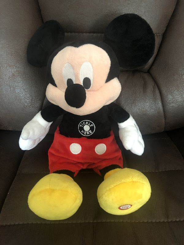 Tickle Me Mickey Mouse by Hallmark