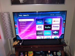 """55"""" inch TCL 4K TV for Sale in Aurora, CO"""