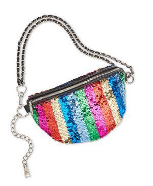 Women's Pride Sparkle Convertible Belt Bag, Rainbow for Sale in Norfolk, VA