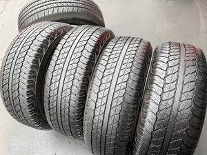 (5) 265/70R17 Dunlop Grandtek tires - $325 for Sale in Santa Ana, CA