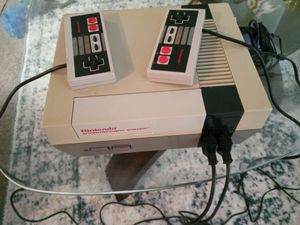 Original Nintendo with 2 controllers and one game for Sale in Dallas, TX