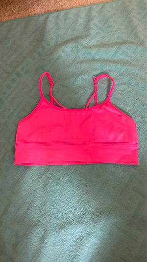 Justice active hot pink sports bra l. Size 30 for Sale in Carnation, WA