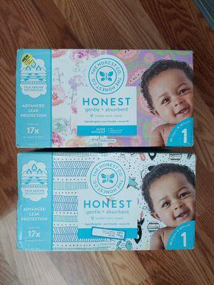 Honest diaper size 1, 160ct for Sale in Orlando, FL
