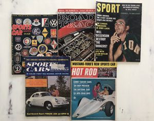 Vintage SPORTS/HOT ROD/ROAD AND TRACK Magazines for Sale in Arvada, CO