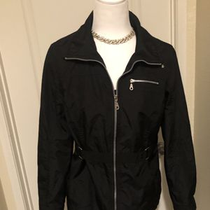 Stylish black waterproof form fitting Parka for Sale in San Diego, CA