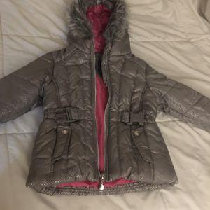 Little Girls Fancy Jacket Size 4t for Sale in Los Angeles, CA