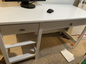 White desk for Sale in Kensington, MD