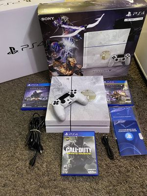 PS4 limited edition/ bundle ( READ DESCRIPTION) for Sale in Harvard, MA