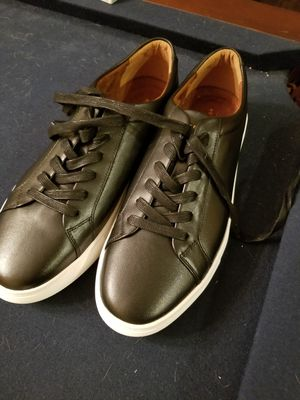 New republic leather sneakers size 11.5 for Sale in Tampa, FL