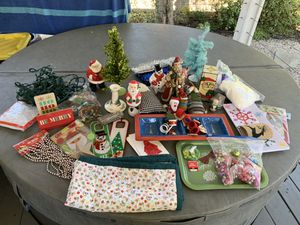 Lot of Christmas Decorations for Sale in Huntington Beach, CA
