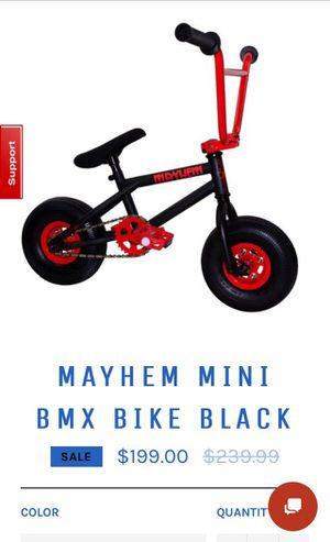 Mayhem mini bmx bike for Sale in Tea, SD