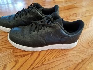 Black nike air force 1s for Sale in Kent, WA