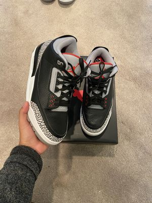 Jordan 3 Black Cement SIZE 11.5 for Sale in Happy Valley, OR