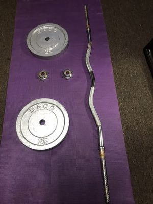 CURL BAR with DISC for Sale in Los Angeles, CA
