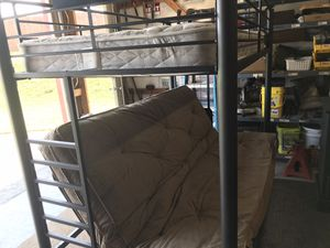 Bunk bed and futon bedroom set for Sale in Boiling Springs, SC