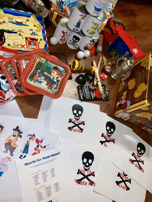 Pirate party supplies for Sale in Rock Hill, SC