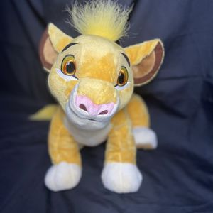 Official Disney Store Plush | Lion King Young Simba 13"