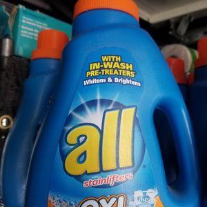 All Detergent Liquid Or Tide Pods 3.50 Each for Sale in Glendora, CA