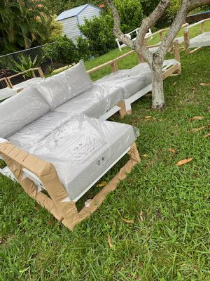 Feruci outdoor patio sectional for Sale in Fort Lauderdale, FL