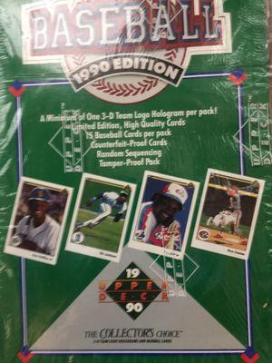 1990 Upper Deck Baseball Cards for Sale in Phoenix, AZ