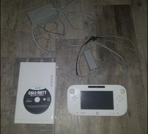 Nintendo Wii U 8gb (White) for Sale in Pembroke Pines, FL