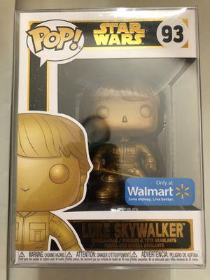 Luke Skywalker Funko Pop! (Gold Version) for Sale in Monterey Park, CA