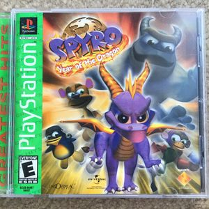 Spyro: Year of The Dragon (PS1) for Sale in Fairfax, VA
