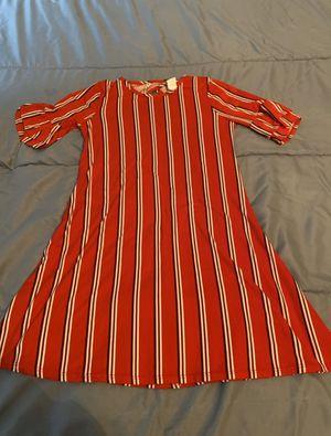 Red, White, and Black Striped Dress for Sale in Murfreesboro, TN
