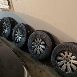 "OEM Audi S4/S5 18"" Winter Set (Wheel & Tire) for Sale in Lombard,  IL"
