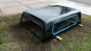 Camper shell for 1996 f250, broken rear window, fresh paint for Sale in San Mateo, CA