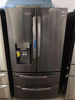 Brand new 4 door black stainless steel refrigerator for Sale in Bellaire, TX