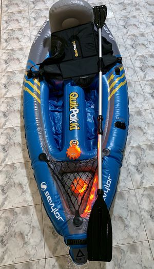 SEVYLOR QUIKPAK K1 KAYAK for Sale in Elmwood Park, NJ