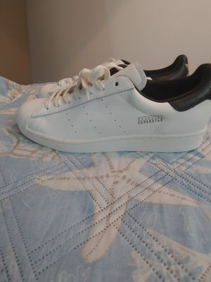 Exclusive Adidas superstar pure off white size 11 men for Sale in Virginia Beach, VA