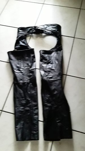 Leather chaps small for Sale in West Palm Beach, FL
