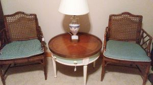 Two Cain back chairs for Sale in Traverse City, MI