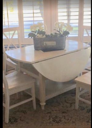 Dining Table No Chairs Table Only White for Sale in Safety Harbor, FL