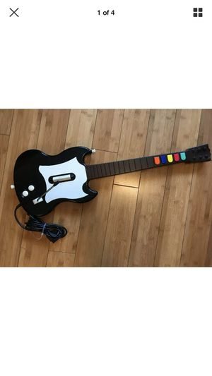 Guitar Hero RedOctane PlayStation 2 PS2 SG Black White Guitar Controller for Sale in Menifee, CA