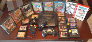 Sega genesis system with 20 games for Sale in Fresno, CA