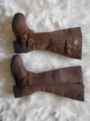 Harley davidson tall boots for Sale in Garden Grove, CA