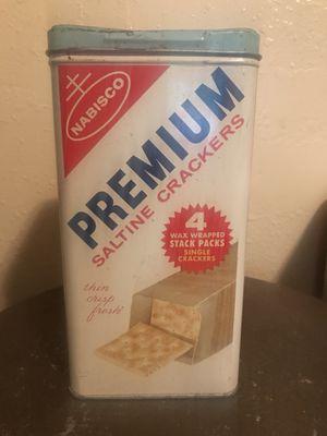 Vintage Nabisco Cracker Tin for Sale for sale  Portland, OR