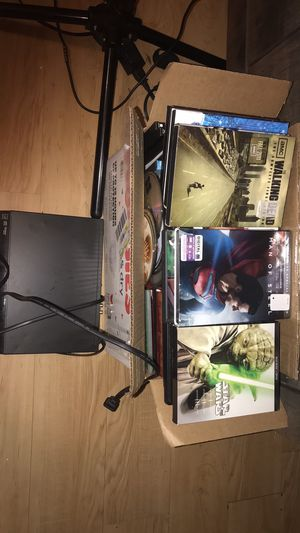 Sony HDMI DVD player with over 120+ DVDs for Sale in Brunswick, GA