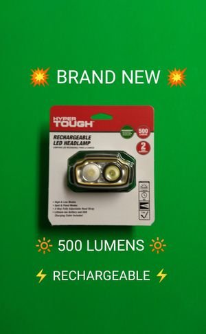NEW RECHARGEABLE LED HEADLIGHT / FREE ITEM / SIMPLE INSTRUCTIONS BELOW / NON-RESPONSIVE POST / for Sale in Phoenix, AZ